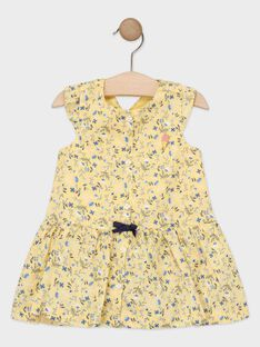 Pale yellow Dress TAOSTINE / 20E1BFO1ROB103