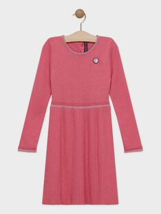 Baby rose Dress SYPANETTE / 19H2PFE1ROB307