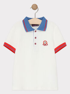 Off white Polo shirt TYDADAGE / 20E3PG12POL001