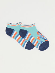 Blue Low socks TIMIRAGE / 20E4PGP1SOBC200
