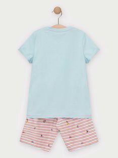 Blue Pajamas TEALIAGE / 20E5PGE1PYJC219
