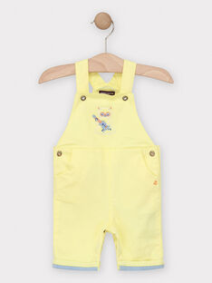 Sunny yellow Short Overalls TAGASTON / 20E1BGG1SAC102