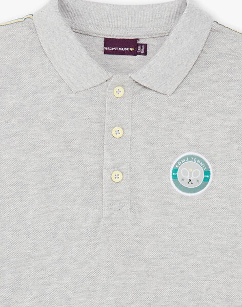 Grey POLO SHIRT ZEPOPAGE / 21E3PGO2POLJ920