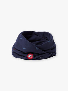 Baby boy midnight blue snood BAFOULAGE / 21H4PGC1SNO720