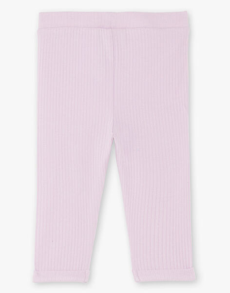 Baby girl parma ribbed legging BACLARISSE / 21H4BF21CAL320