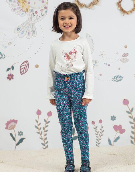 Baby girl's floral print legging BOFIETTE / 21H4PF91CAL714