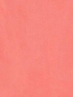 Pink trapeze skirt in cotton twill ZETOMETTE / 21E2PFI1JUP404