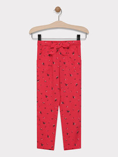 Printed trousers SAJANETTE / 19H2PF31PAND325