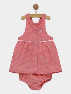 Coral Chasuble dress RAOTHEA / 19E1BFH1CHS404