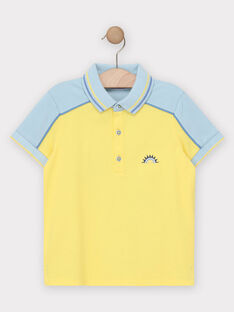 Golden yellow Polo shirt TIFLIAGE / 20E3PGO2POL106