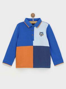electric blue Polo shirt RABIAGE / 19E3PG41POL217
