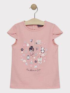 Pink T-shirt TAYIBETTE / 20E2PFP1TMCD323