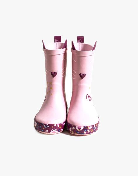 Clear pink RAIN BOOTS VIKIETTE / 20F10PF12D0C321
