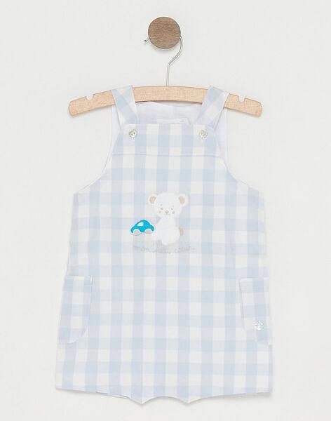 Water blue Short Overalls TUVOUKI / 20E0CGR2SAC213