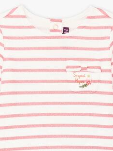 Baby Girl Long Sleeve Sailor T-Shirt BAMIRA / 21H1BFM1TEE001