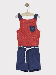 Red Short Overalls TUILUETTE / 20E2PFW1SACF503
