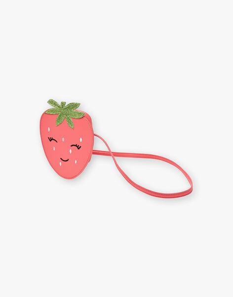Strawberry and guava pink messenger bag ZOFRAISETTE / 21E4PFJ1BESD323