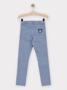 Blue pants TEDRAGE / 20E3PGG2PANC237