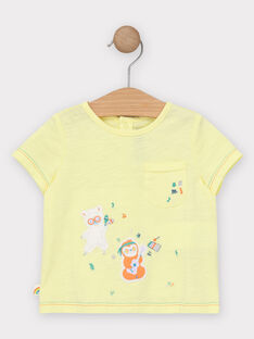 Sunny yellow T-shirt TAGINO / 20E1BGG1TMC102