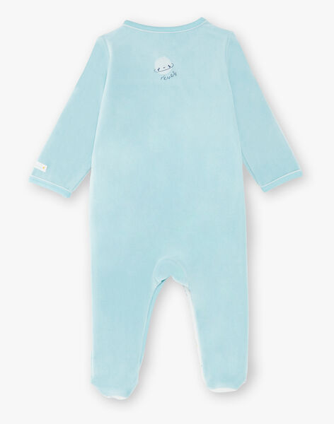 Pale turquoise ROMPER VITTORIO_B / 20H0NG12GRE203