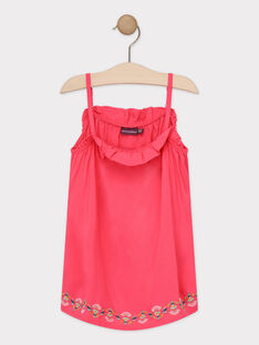 Red tank top TAEBOETTE 2 / 20E2PFM3DEBF510