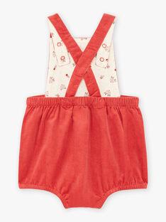 Baby girl pink dungarees BAIRIAM / 21H1BFJ1SACD332