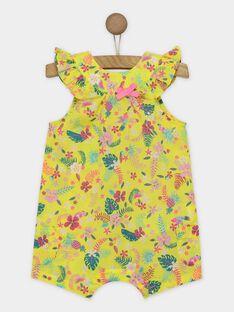 Lemon yellow Jumpsuit RAVINY / 19E1BFQ1CBL108