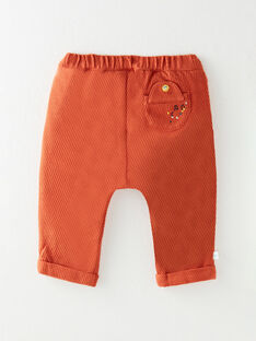 Dark orange PANTS VAJULES / 20H1BGM1PAN408