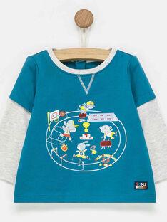 Navy T-shirt PADIEGO / 18H1BG61TML714