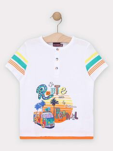 White T-shirt TEDOUAGE / 20E3PGG3TMC000
