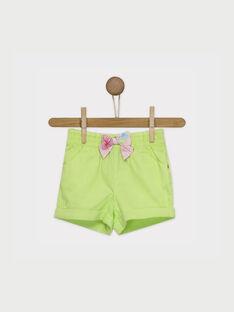 Lemon yellow Shorts RATINA / 19E1BFP1SHO108