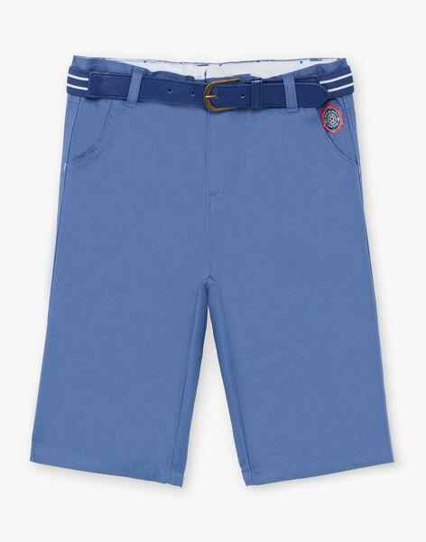 Baby Boy's Blue Bermuda Shorts and Belt TYZANAGE / 20E3PGZ5BERC239