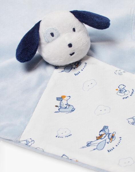 Sky and white dog plush baby boy BOYAN / 21H0AG41JOU219