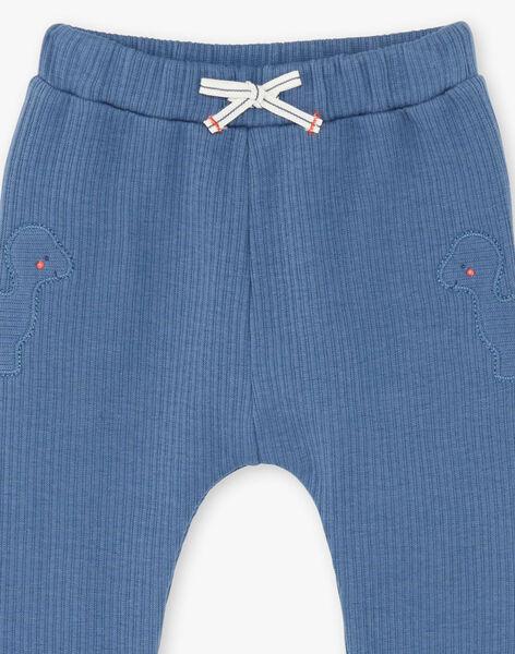 Baby boy gentian blue pants ZAEDDY / 21E1BGB1PANC230