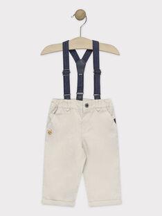 Beige pants TYBARON / 20E1BG11PAN080