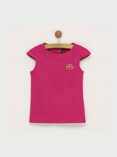 Pink T-shirt RUFAPETTE 6 / 19E2PFQ2TMCD302