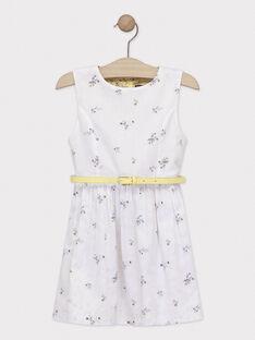 Pale yellow Chasuble dress TOIRETTE / 20E2PFO1CHS103