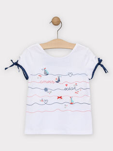 Off white T-shirt TUILETTE / 20E2PFW1TMC001