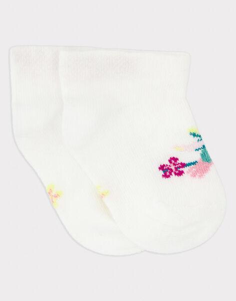 Off white Low socks RAVERO / 19E4BFQ1SOB001