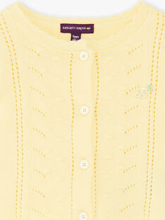 Yellow CARDIGAN ZANICKY / 21E1BFO2CARB104