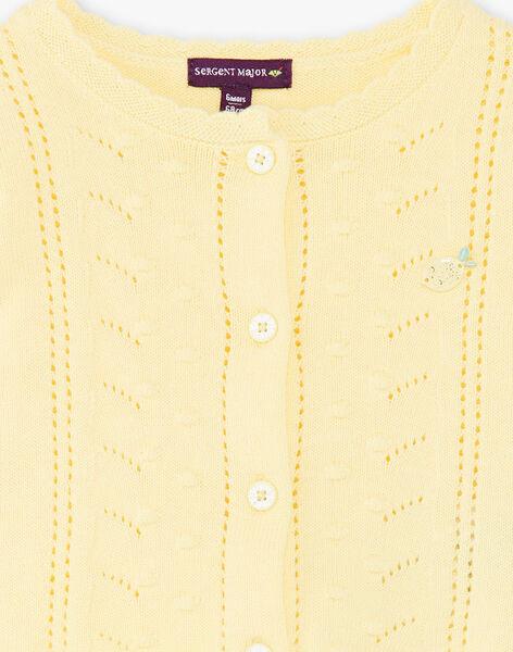 Yellow CARDIGAN ZANICKY / 21E1BFO2CARB104