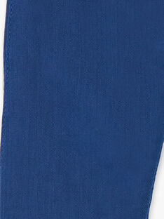 Dark blue tubular pants ZAIKAR / 21E1BGI1PAN705