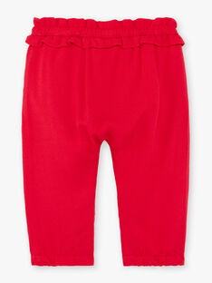 Red pants ZAAMBRE / 21E1BFJ1PANF505