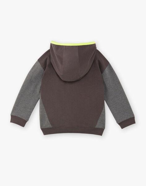 Grey jogging jacket ZECLAGE1 / 21E3PGK2JGH942