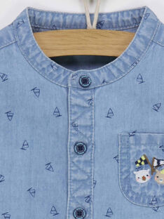 Blue denim Shirt RAGUSTAVE / 19E1BGD1CHM704