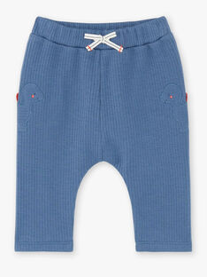 Baby boy gentian blue pants ZAEDDY / 21E1BGB1PANC230