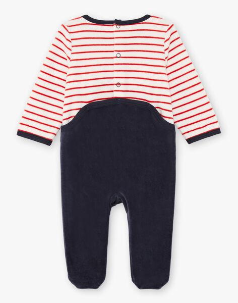 Baby Boy Long Sleeve Raccoon Sleep Suit BEALBERT / 21H5BG61GRE942