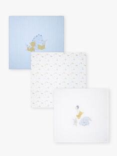 Set of 3 baby boy diapers ZOLTAN / 21E0AGG1LAN020