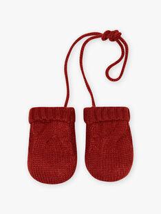 Baby boy knitted mittens BIOMAR / 21H4BGD1GANI801