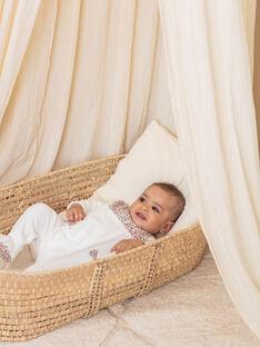 Baby girl velvet romper and beanie BEBETTY / 21H5BF63GRE001